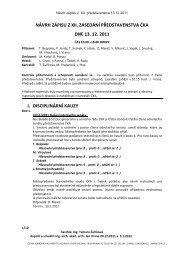 návrh zápisu z xii. zasedání představenstva čka dne 13. 12. 2011 i ...