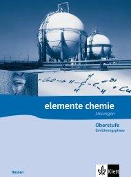 Lösungen zu Kapitel 1 Redoxreaktionen - Ernst Klett Verlag