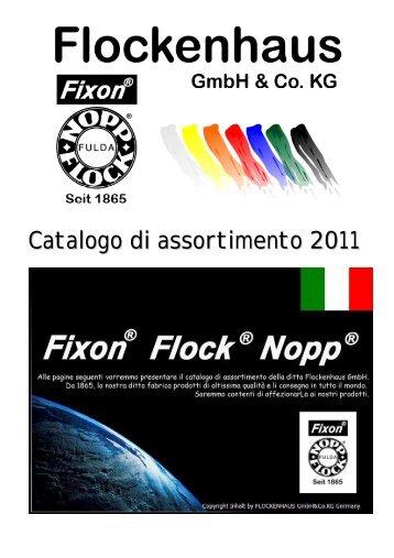 Catalogo di assortimento 2011 - flockenhaus.de
