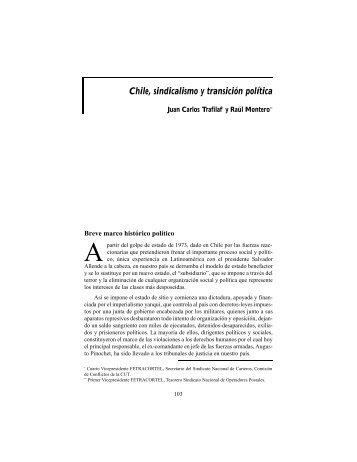 Chile, sindicalismo y transición política