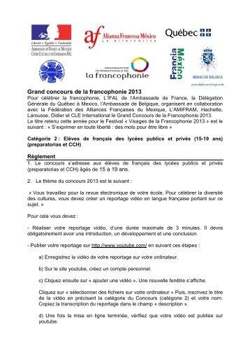 Elèves de français des lycées publics et privés (15-19 ans)