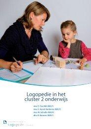 Logopedie in het cluster 2 onderwijs - Logopedie.nl