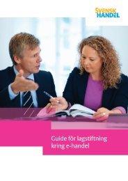 Guide för lagstiftning kring e-handel - Svensk Handel