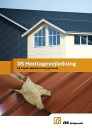 DS Montagevejledning - DS Stålprofil