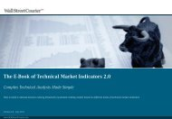 The E-Book of Technical Market Indicators - The Swing Trading Guide