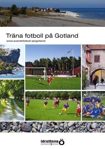 Träna fotboll på Gotland - Idrottens Ö