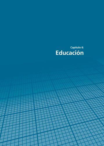 Capítulo 6: Educación - Resdal
