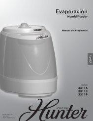 Humidificador - Hunter Fan