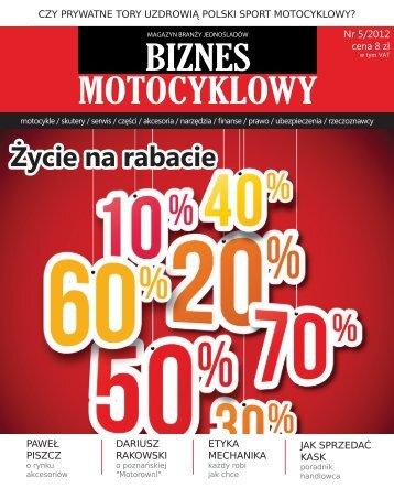 pobierz pdf na tablet, smartfona lub wydrukuj - Biznes Motocyklowy