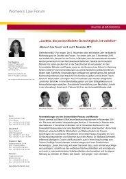 Women's Law Forum - Baker & McKenzie