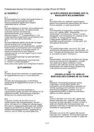 Kommunedelplanens bestemmelser - Bergen kommune