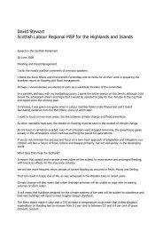 Download the text of this speech (PDF - Highlands and Islands Labour