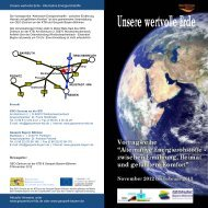 Flyer Vortragsreihe 2012-13 - GEO-Zentrum an der KTB