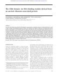 ribosome-associated protein The CRM domain: An RNA binding ... - Page 2