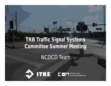 DCD-Competition- NCDCD team - Traffic Signal Systems Committee
