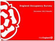 England Occupancy Survey - VisitEngland