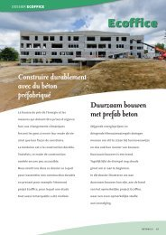 Duurzaam bouwen met prefab beton - Febe