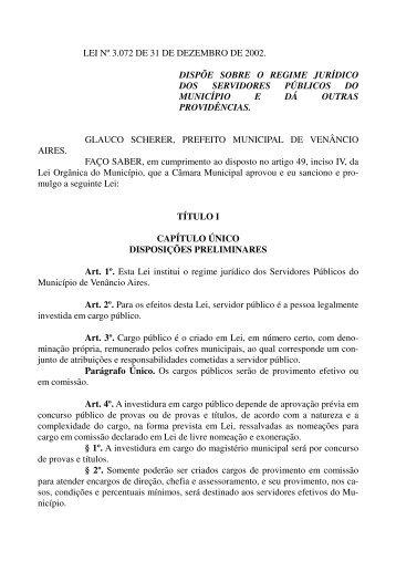 arquivo - Prefeitura de Venâncio Aires