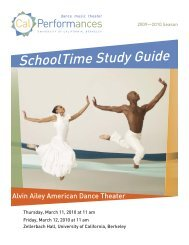 Alvin Ailey American Dance Theater Study Guide 0910.indd - Cal ...