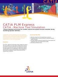 CATIA - Machine Tool Simulation - NobleTek