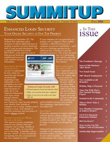 Download - The Summit Federal Credit Union