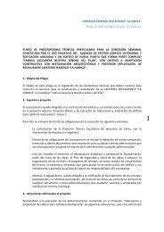 Nuevo Pliego Condiciones Técnicas - Ayuntamiento de Motril