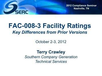 Compliance Seminar Nashville - Oct 2-3, 2012 - FAC-008-3