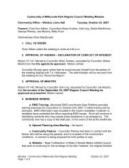 Community of Miltonvale Park Regular Council Meeting Minutes ...
