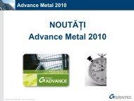 Advance Metal 2010 - Graitec