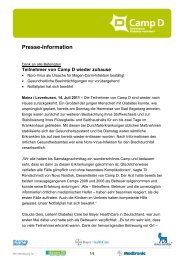 Presse-Information - Aktuell