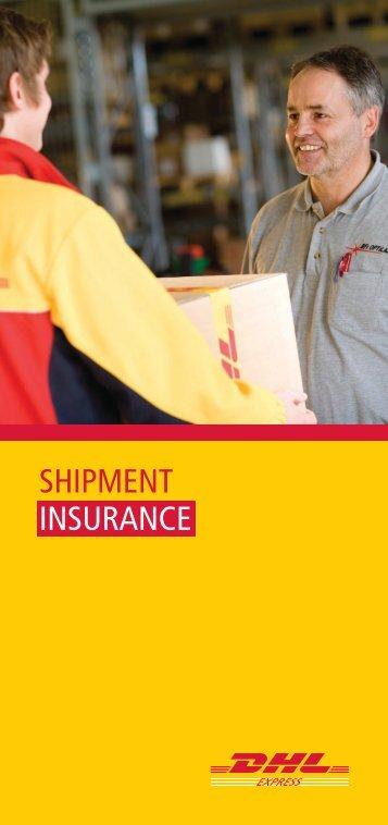 DHL Shipment Insurance Leaflet