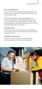 DHL Shipment Insurance Leaflet - Page 5