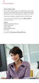 DHL Shipment Insurance Leaflet - Page 6