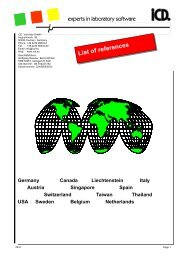 List of references Germany Canada Liechtenstein Italy Austria - iCD.
