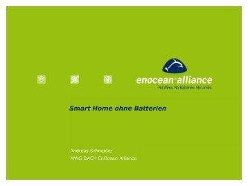 Schneider, Andreas – SmartHome ohne Batterien