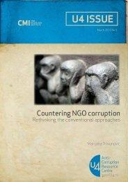 Countering NGO corruption