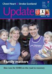 Family matters - Chest Heart & Stroke Scotland