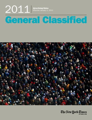 General Classified - New York Times – inEducation – Subscriptions