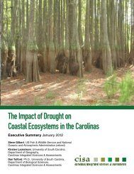 The Impact of Drought on Coastal Ecosystems in the Carolinas