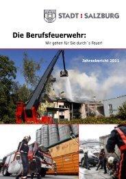 Jahresbericht 2011 - eBook - Berufsfeuerwehr Salzburg