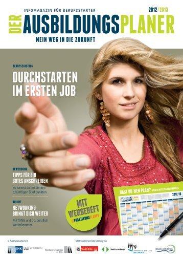 DURCHSTARTEN IM ERSTEN JOB - Der Praktikumsplaner