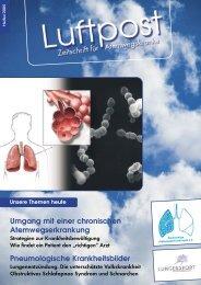 Ausgabe Herbst - 2005 - Patientenliga Atemwegserkrankungen e.V.