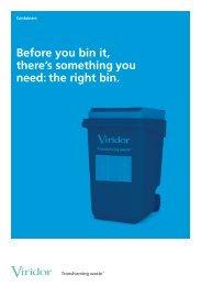 Containers - Viridor