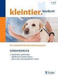 SONDERDRUCK - ROYAL CANIN Tiernahrung GmbH & Co. KG