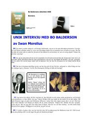 Intervju med Bo Baldersson - Läst & hört i Hängmattan