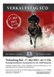 Katalog Verkaufstag (pdf) - Trakehner Verband
