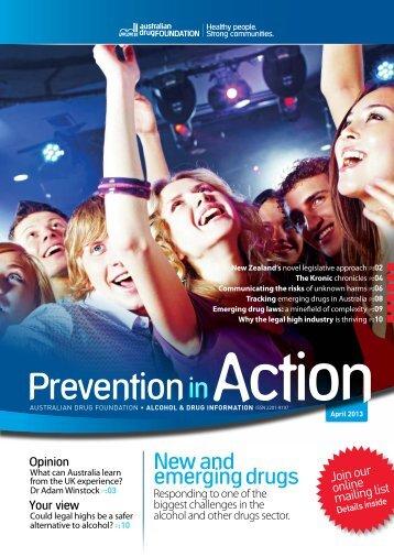 New and emerging drugs - DrugInfo - Australian Drug Foundation