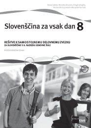 (posodobljena izdaja 2010) - rešitve samostojnega delovnega zvezka