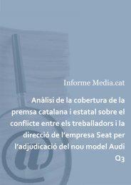 Anàlisi de la cobertura de la premsa catalana i estatal sobre el ...