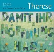 An die Freunde der heiligen Therese - Therese von Lisieux